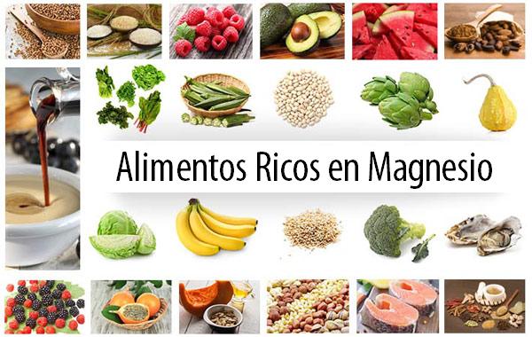 Efectos secundarios del exceso de magnesio - Alimentos que tienen calcio ...