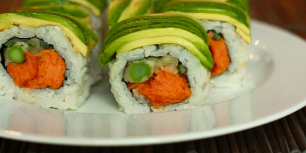 sushi alcalino
