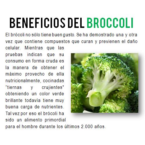 Beneficios alcalinos del brócoli