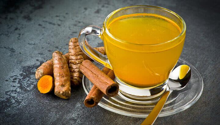 té de curcuma